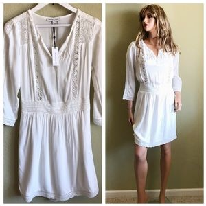 NWT HEARTLOOM White Lace Embellished Dress